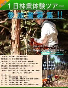 美咲町林業体験